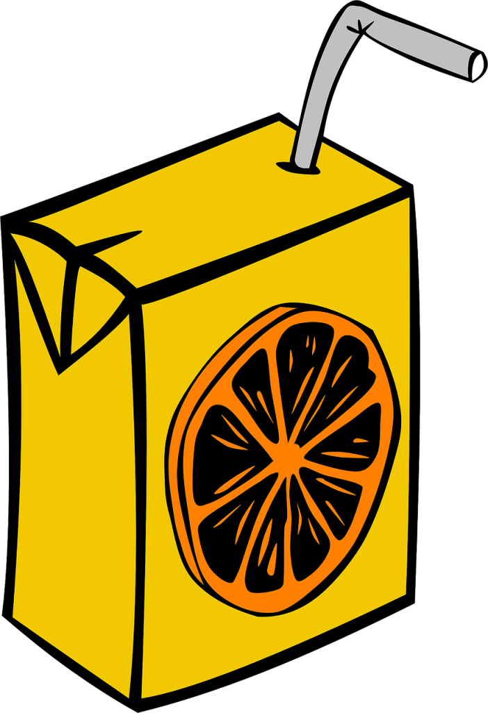 juice, box, carton